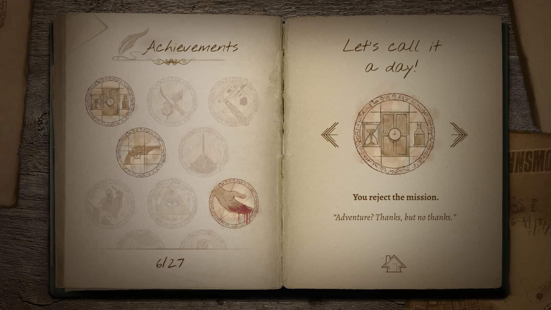 Lovecraftian story screenshot 04