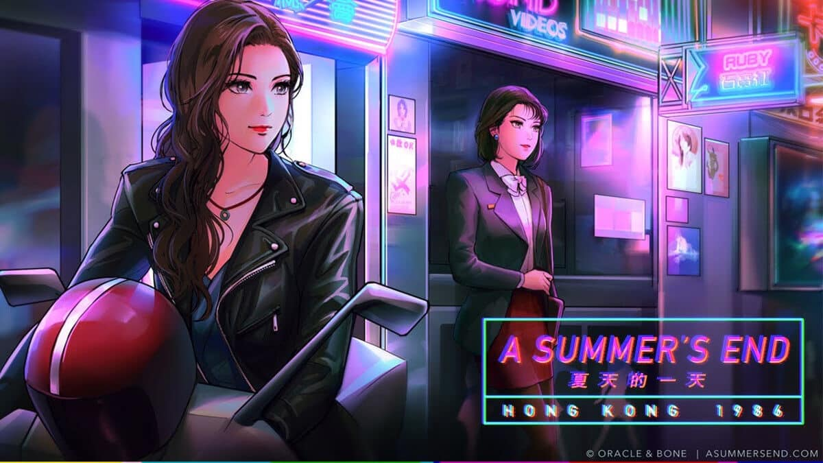 a summer's end - hong kong 1986 new visual novel game just announced for linux mac windows pc