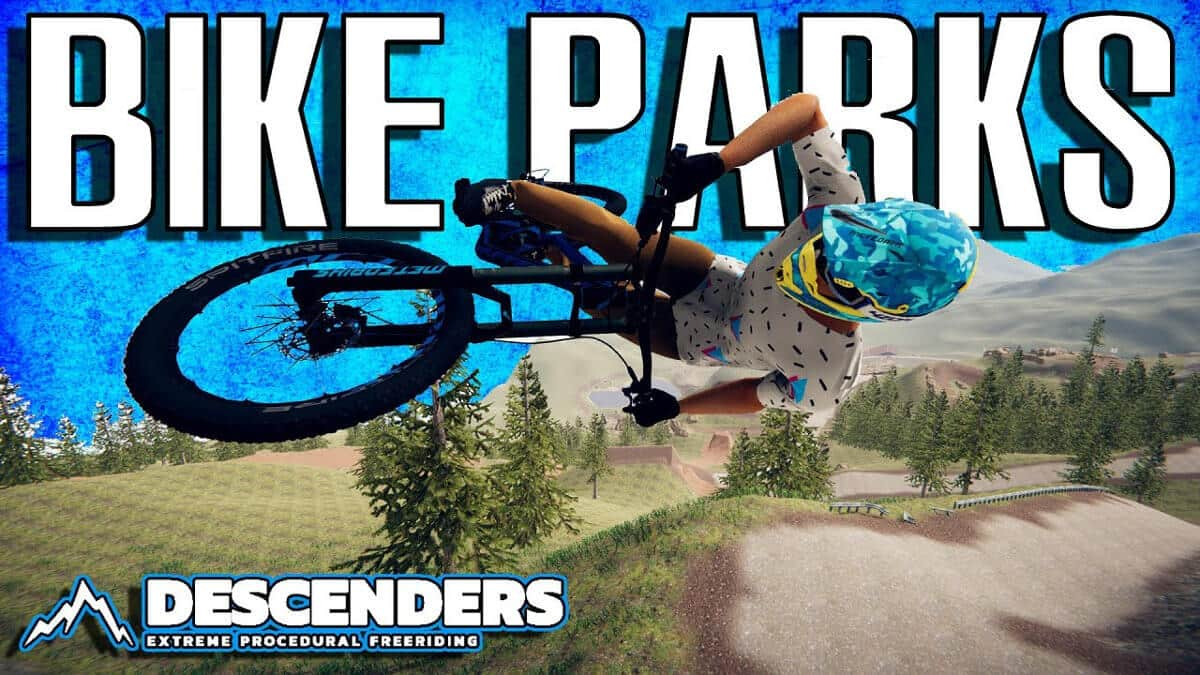 bike parks update added free to descenders on linux mac windows pc