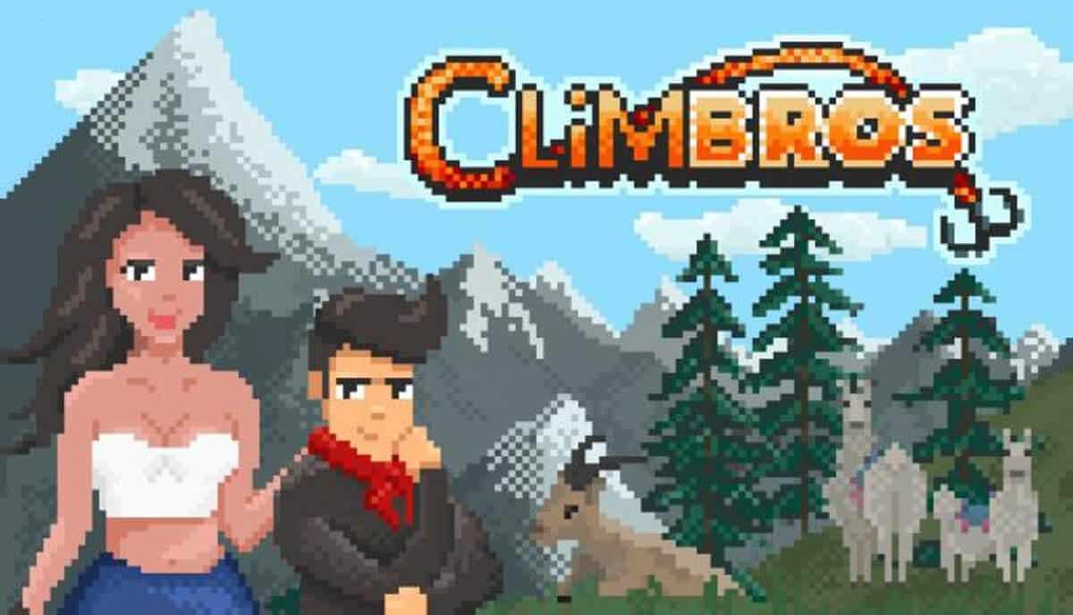 Climbros a new retro climbing arcade game