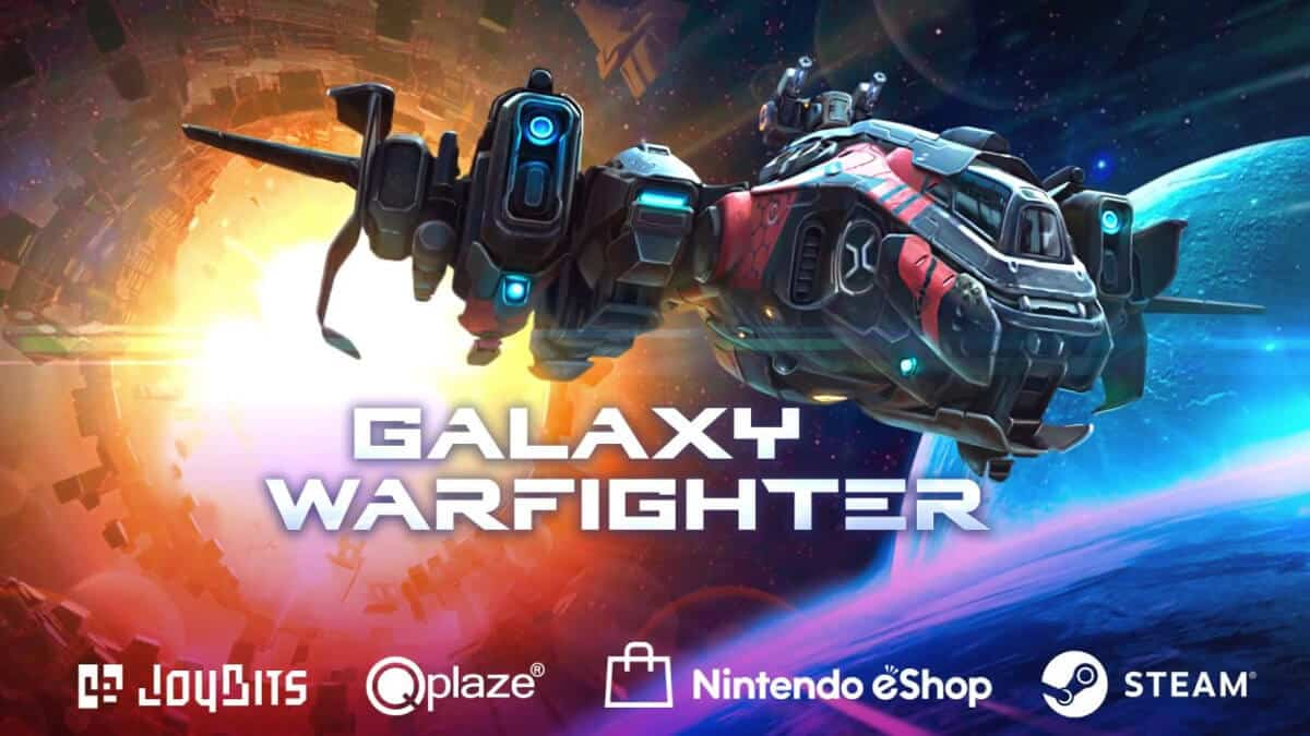 Galaxy Warfighter the space shoot'em up release