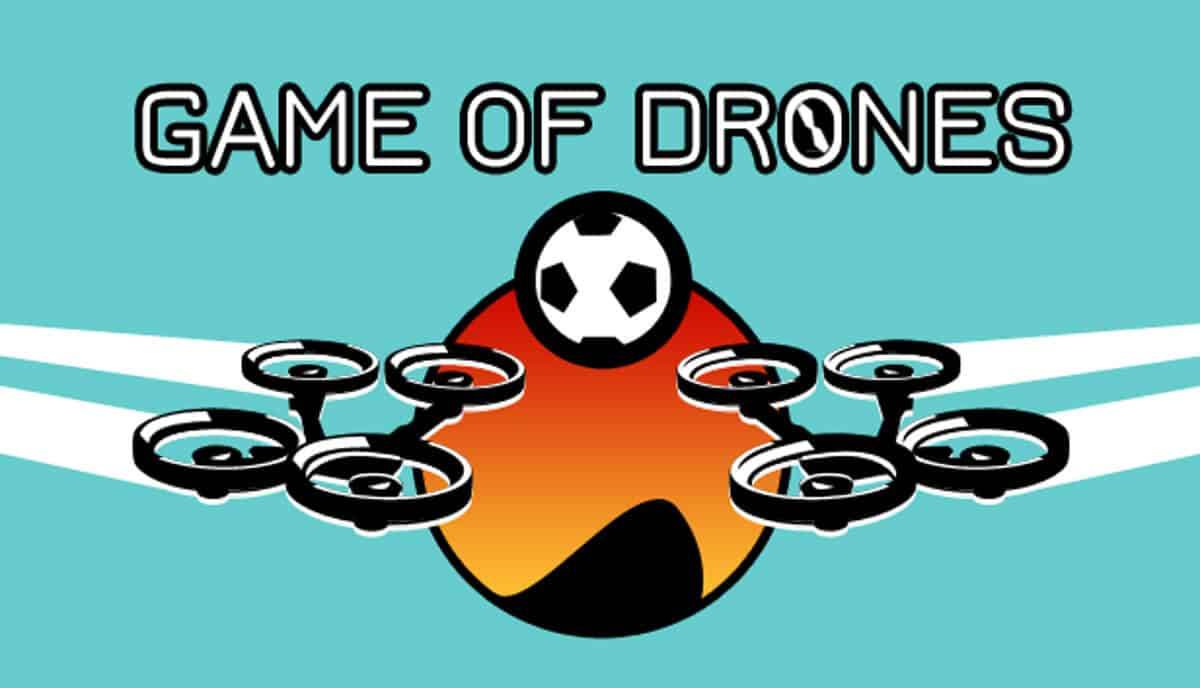 Game of Drones a new soccer multiplayer