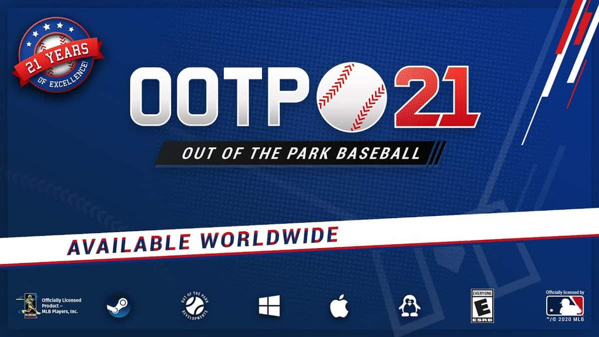 Out of the Park Baseball 21 releases worldwide
