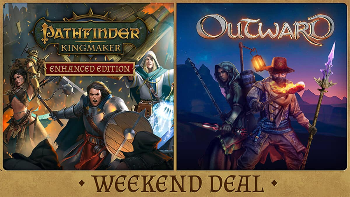 pathfinder: kingmaker and outward on sale for linux mac windows pc