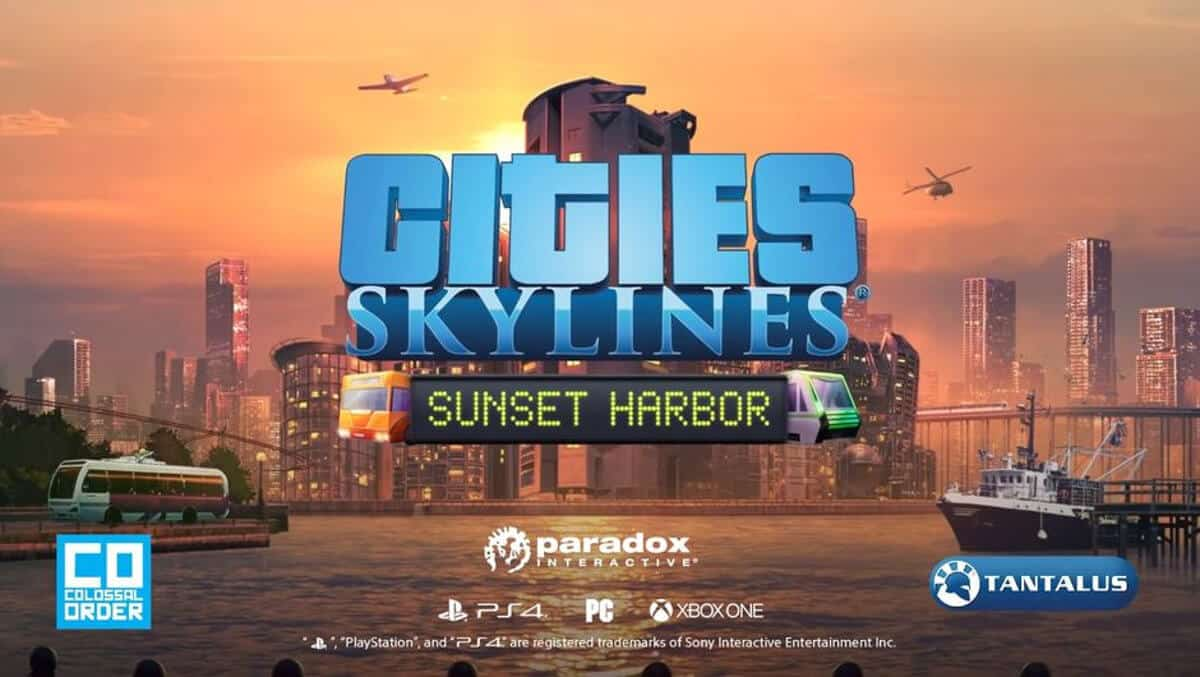 sunset harbor expansion coming next week to Cities: Skylines on linux mac windows pc
