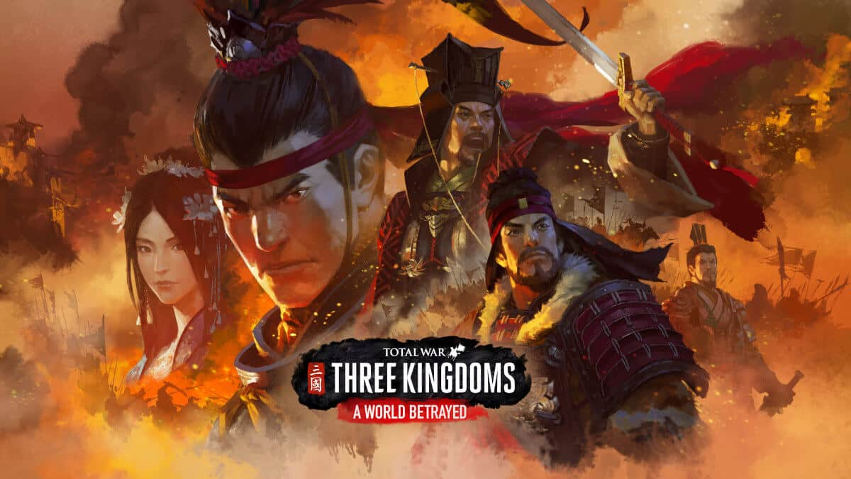 a world betrayed dlc linux and mac port releases for total war: three kingdoms game