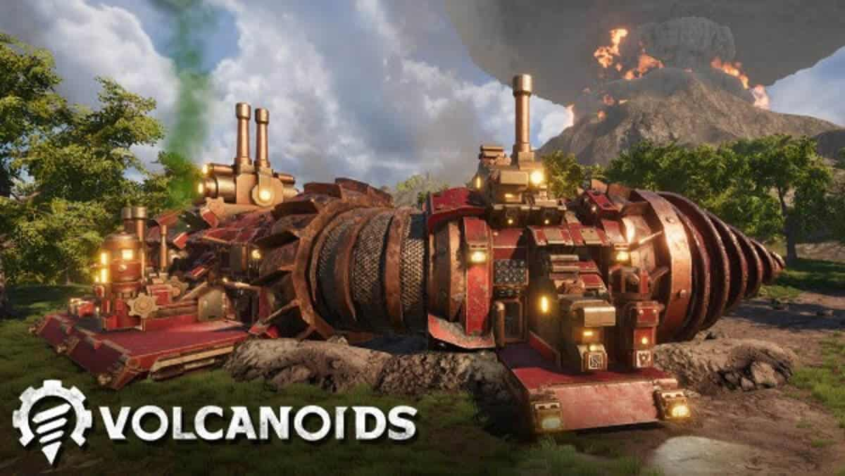 Co-op multiplayer just announced for Volcanoids