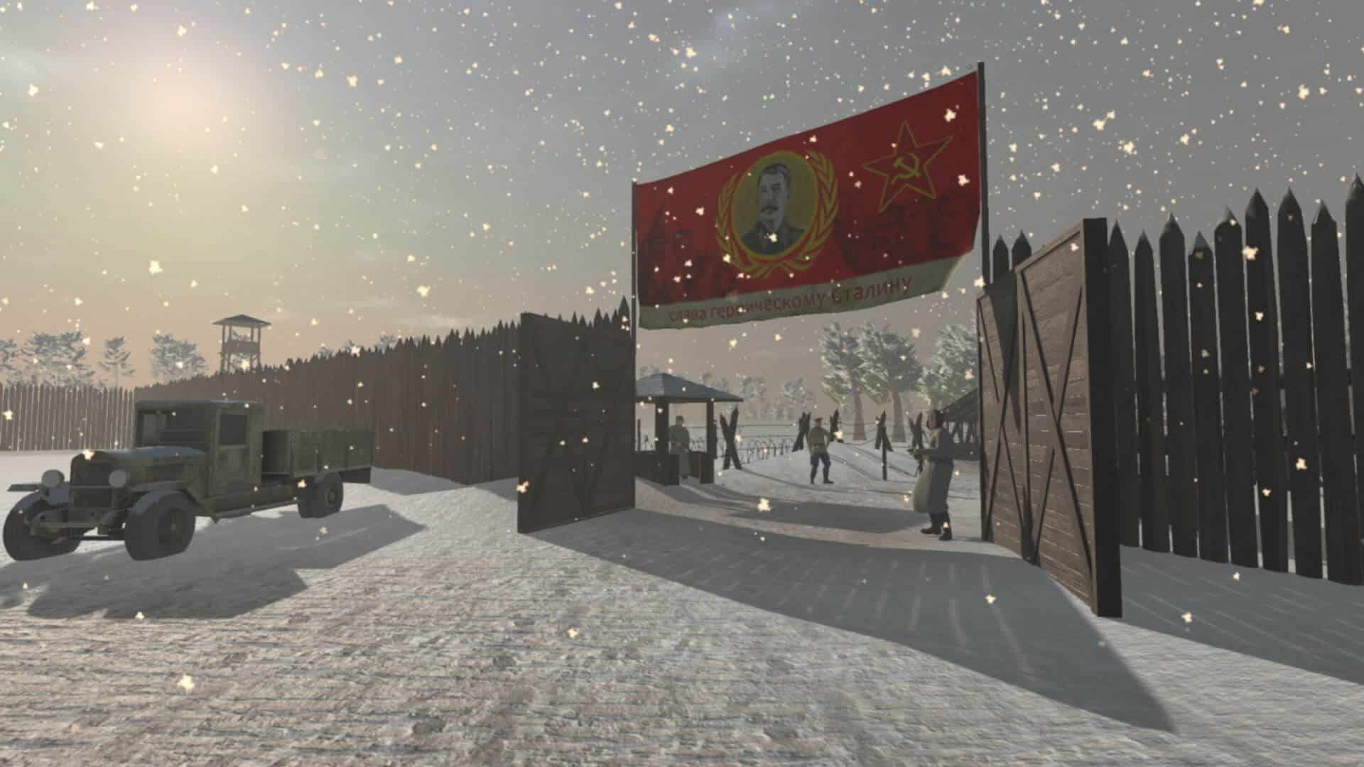 gulag game escape brutal oppression screenshot snow