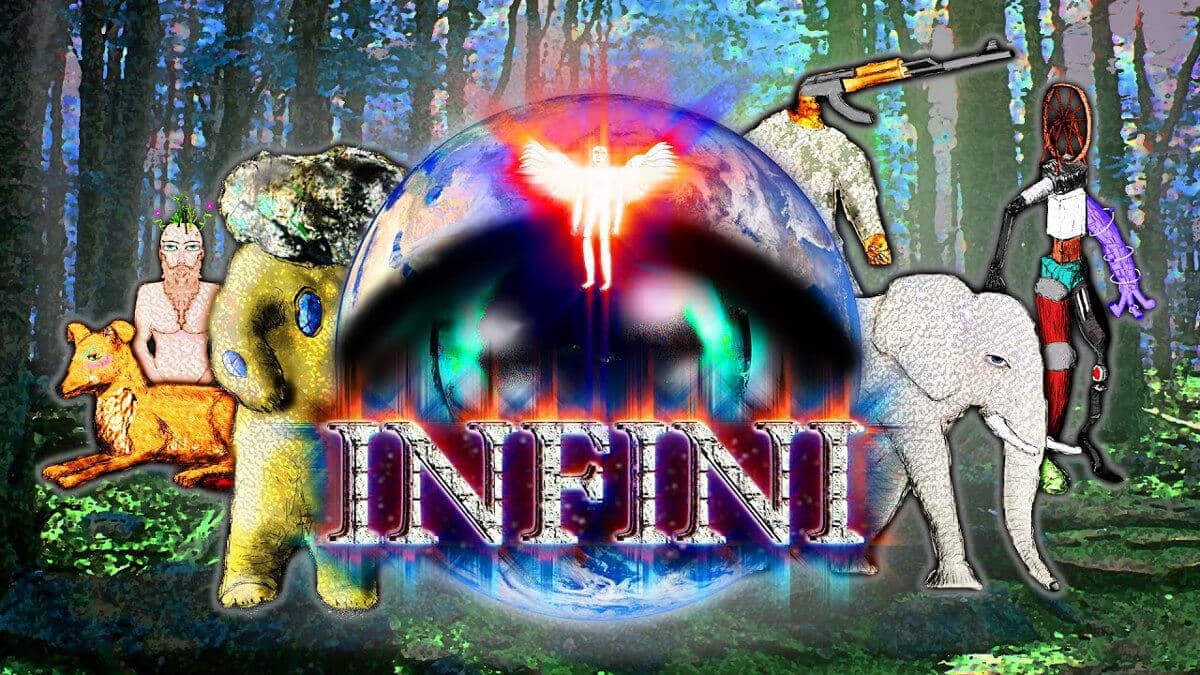 infini psychedelic puzzle game gets a linux release beside windows pc