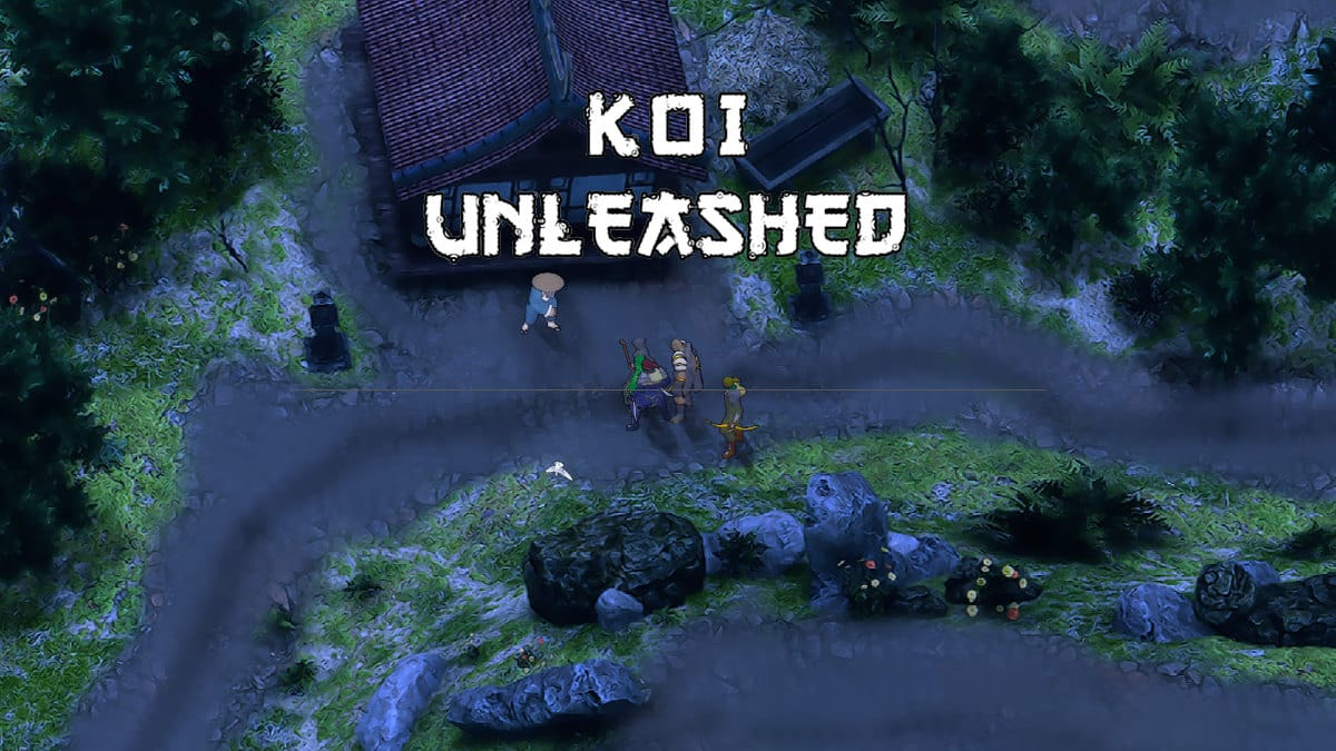 koi unleashed action rpg game releases into feudal japan linux windows pc