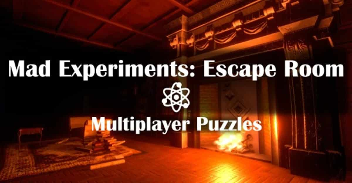 Mad Experiments: Escape Room co-op releases