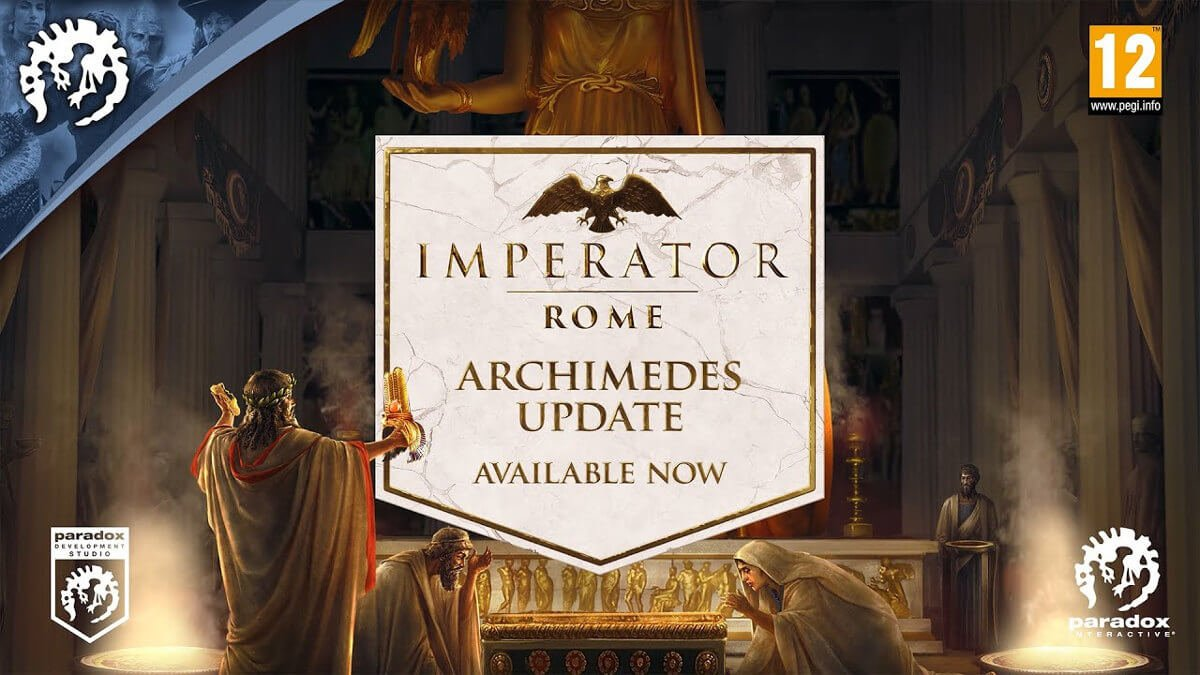 magna graecia and archimedes update releases on Imperator: Rome linux mac windows pc