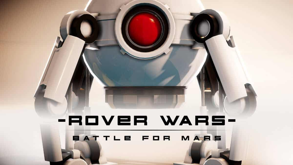 rover wars robot rts game has a release date for linux mac windows pc
