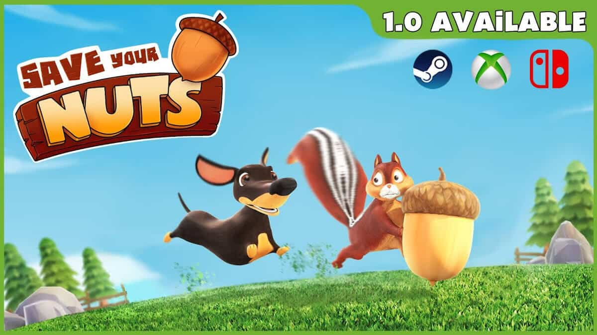 save your nuts arena party game still coming to linux windows pc