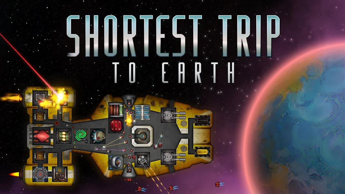 shortest trip to earth roguelike spaceship simulator game official support for linux windows pc