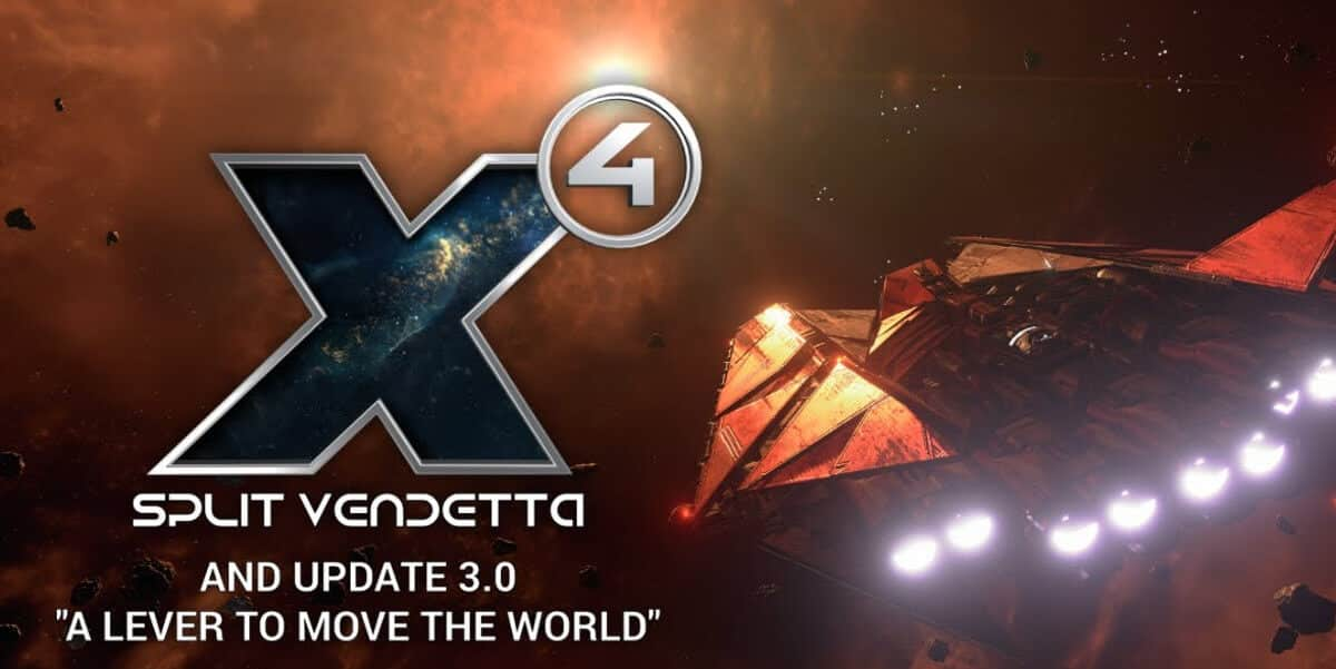 Split Vendetta and 3.0 Update releases for X4