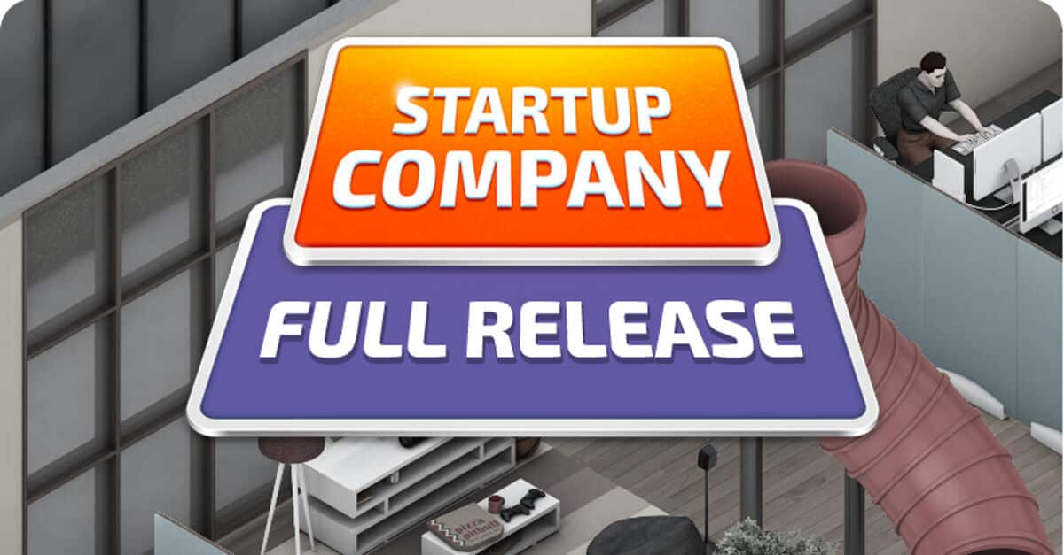 startup company simulation management strategy game gets a full release linux mac windows pc