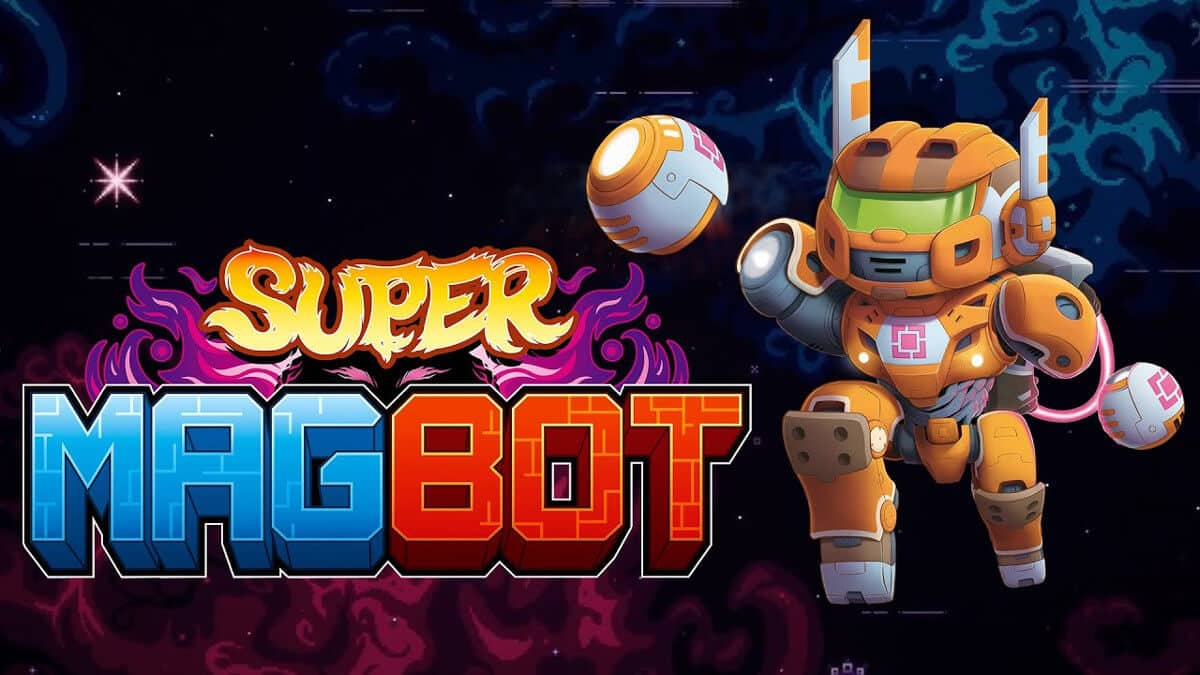 super magbot a challenging new 2d platformer game for linux windows pc