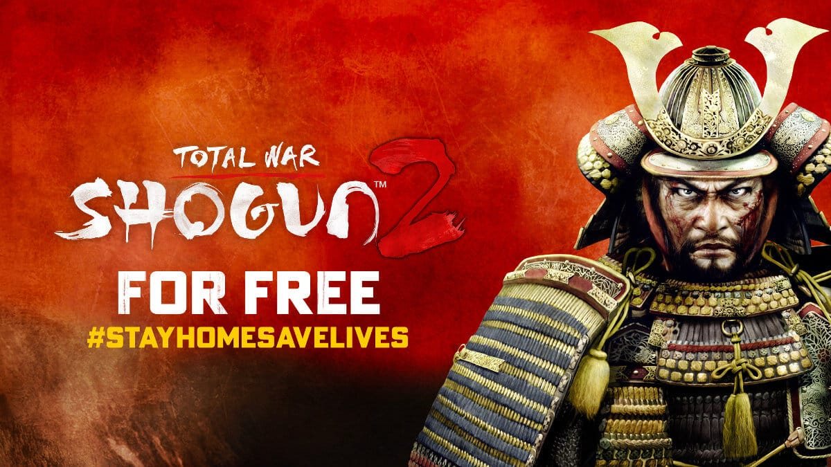 total war: shogun ii now free to keep game on linux mac windows pc
