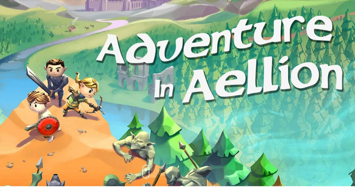 Adventure in Aellion fantasy now has a release date