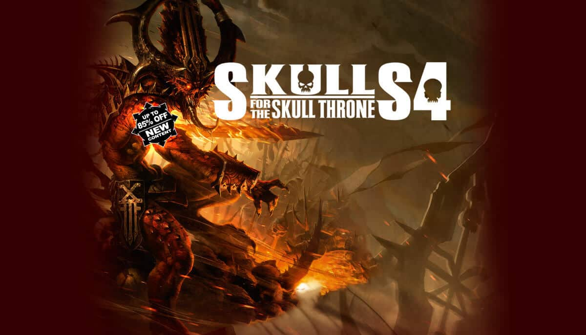 assault pack dlc releases for warhammer 40000 gladius with Skulls for the Skull Throne sale on linux mac windows pc