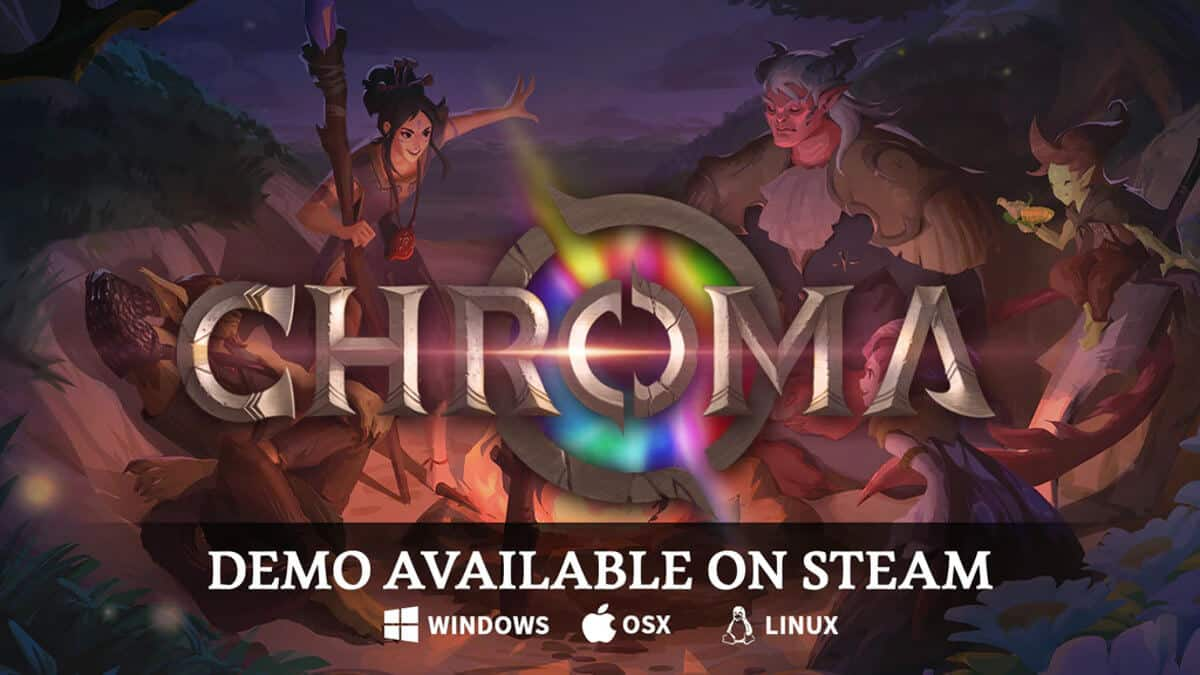 chroma: bloom and blight smashes kickstarter goal on linux mac windows pc with a demo