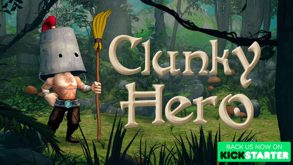 clunky hero platformer metroidvania game hits kickstarter with a demo for linux mac windows pc