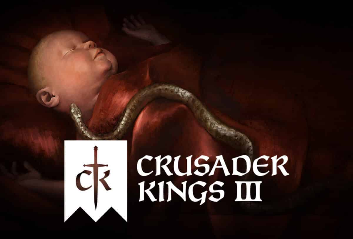 Crusader Kings III due to shape history this fall