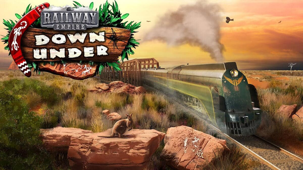 Down Under DLC releases now for Railway Empire