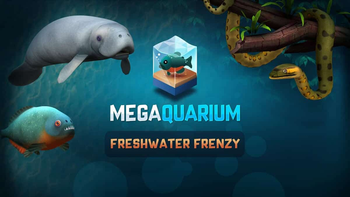 freshwater frenzy deluxe expansion coming to megaquarium on linux mac windows pc