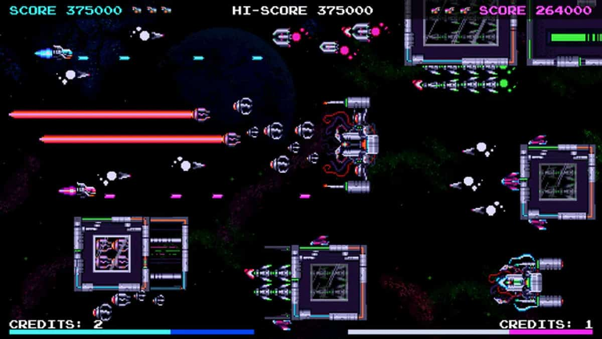 galactic wars ex co-op arcade hits kickstarter screenshot 01