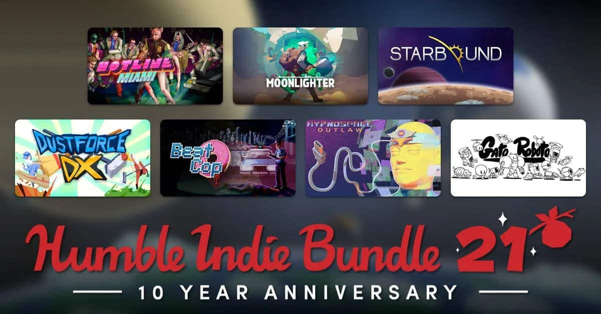Humble Indie Bundle 21 launch celebrates 10 years