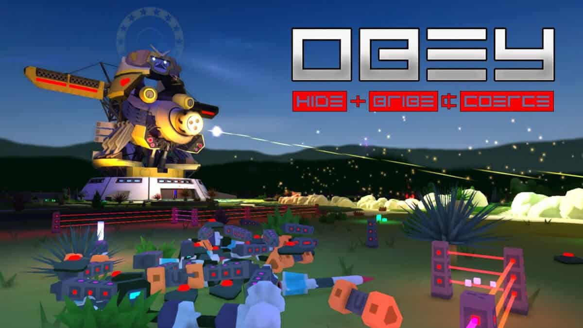 obey asymmetrical multiplayer game gets a release date for linux mac windows pc