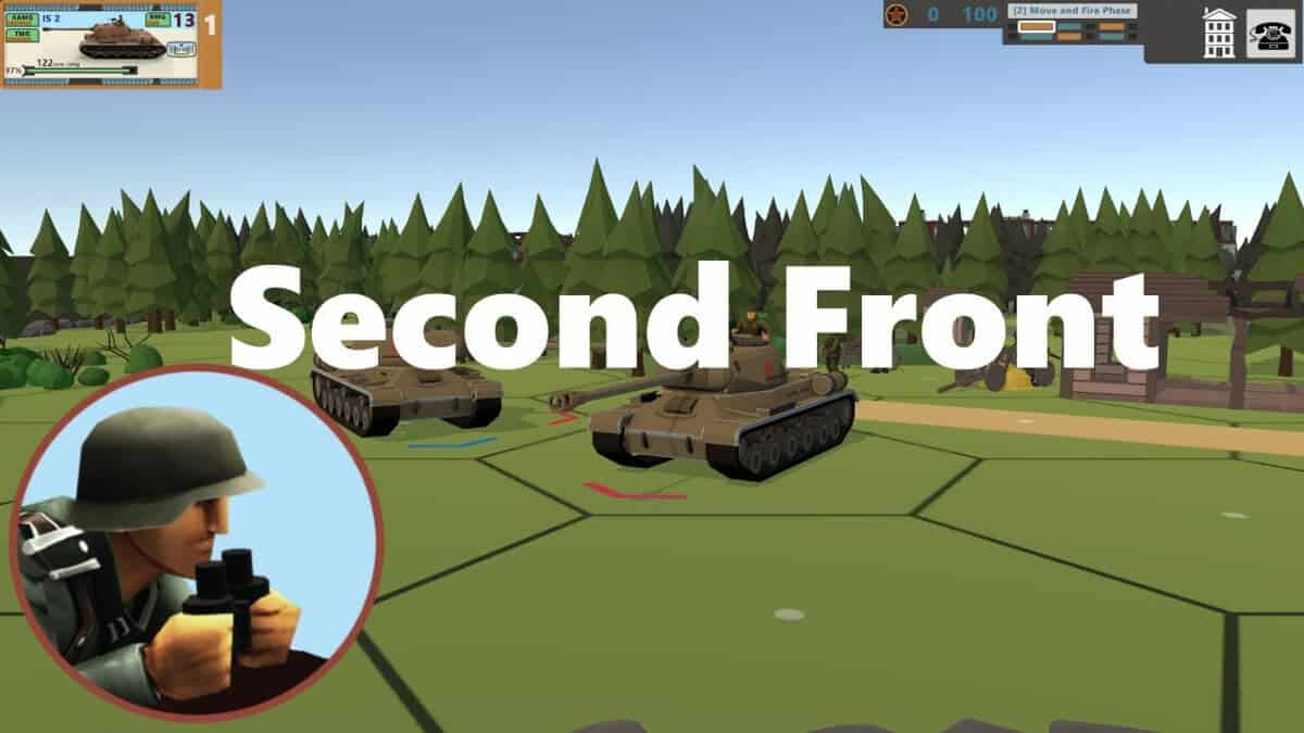 second front tactical WW2 and game support for linux and windows pc
