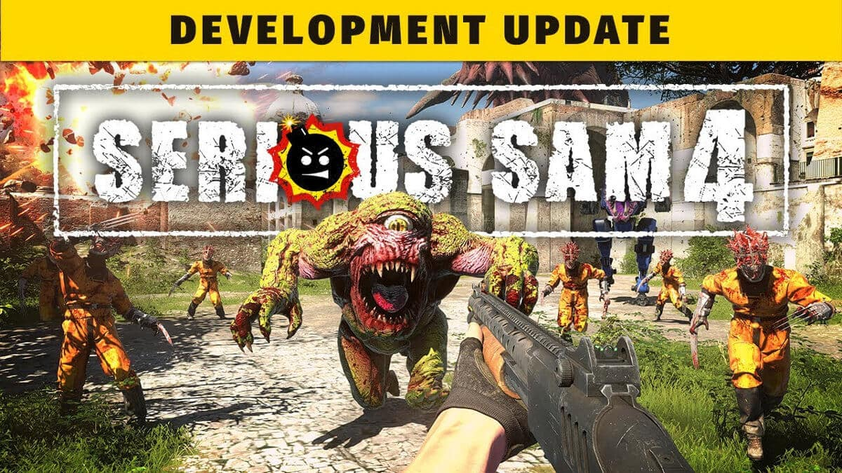 serious sam 4 currently razor focused on windows pc not linux support