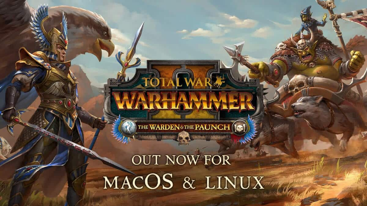 the warden & the paunch releases support for linux mac beside windows pc on total war: warhammer ii