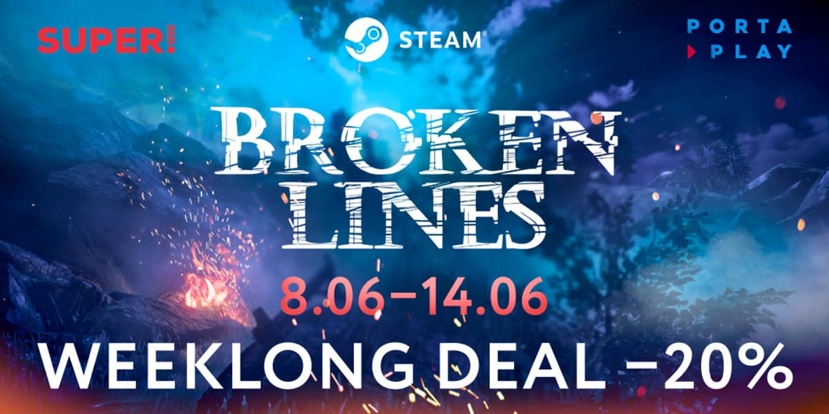 Broken Lines tactical Sale and new content
