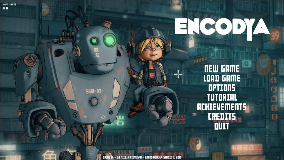 encodya cyberpunk point and click due late 2020 with demo on linux mac windows pc