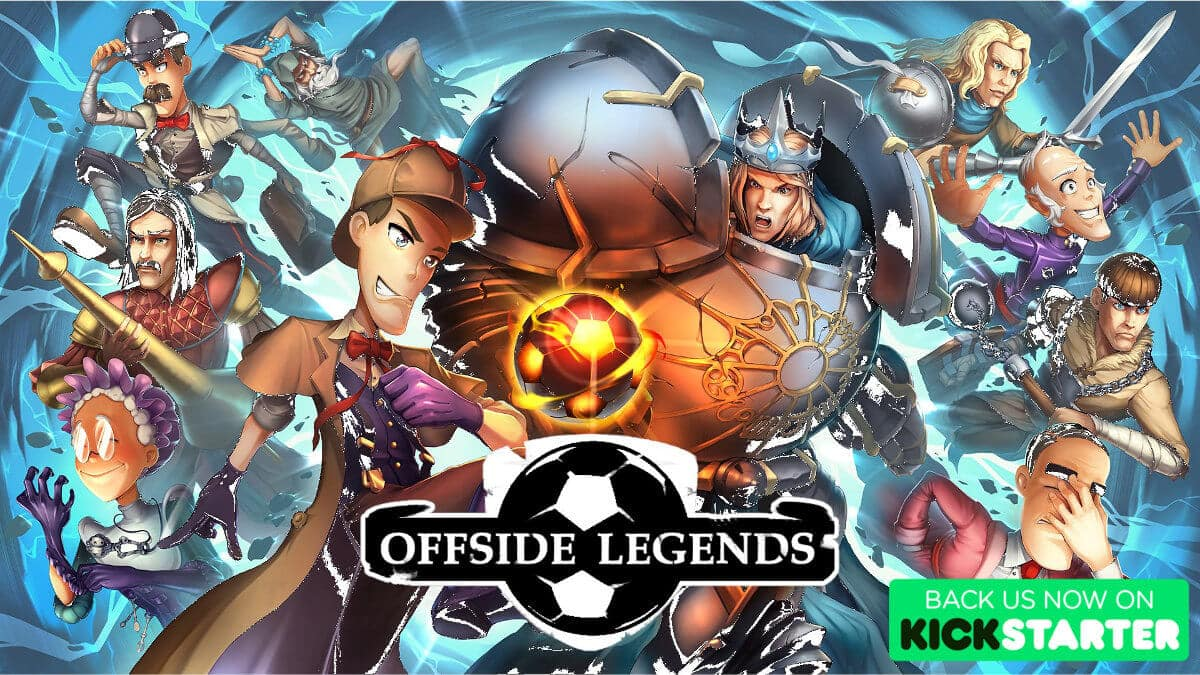 Offside Legends fast-paced soccer hits Kickstarter