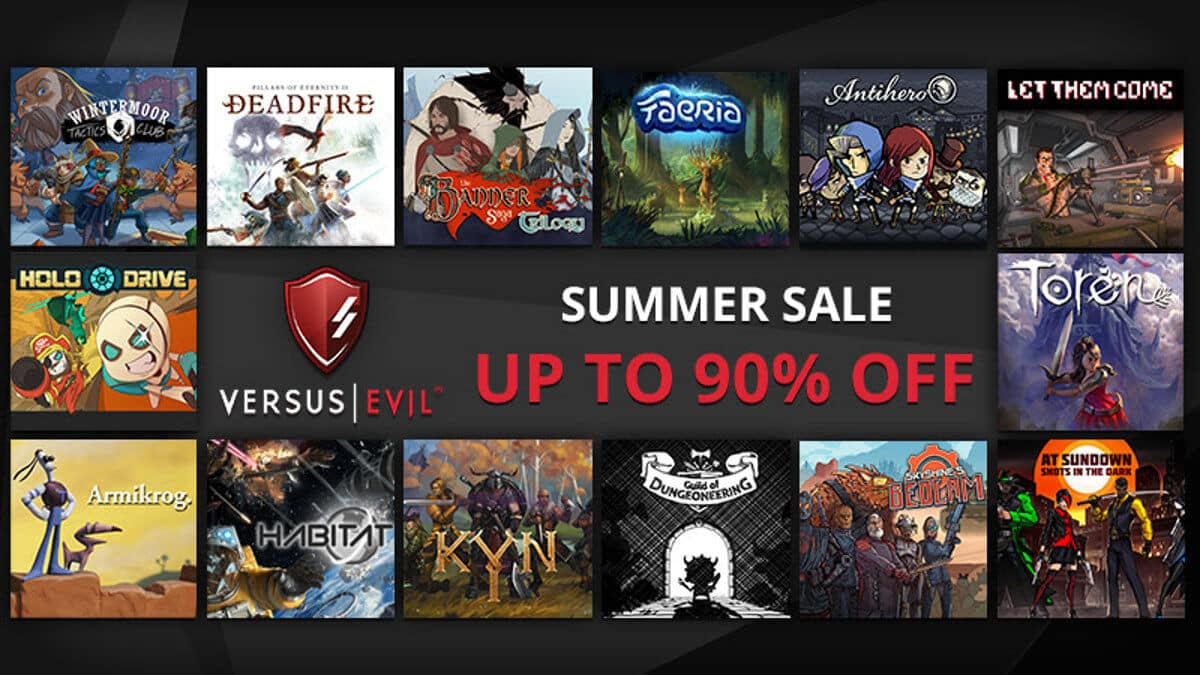 Summer sale on Steam and Versus Evil Deals
