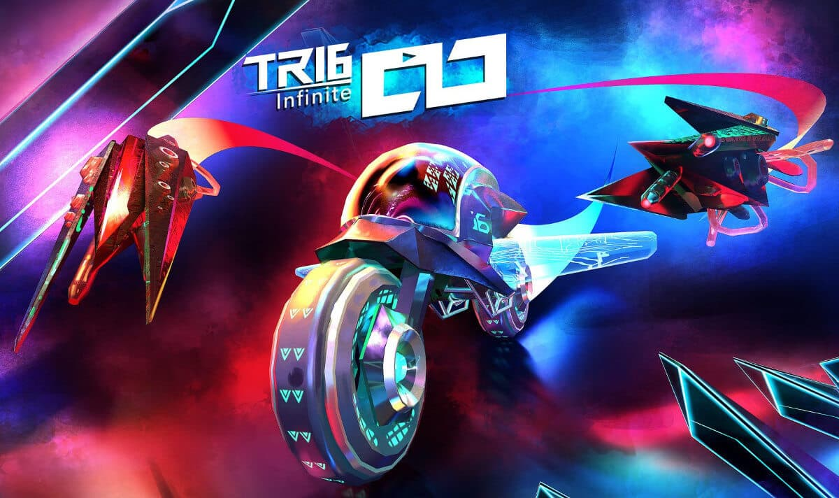 tri6: infinite fast paced endless racer for linux mac windows pc has a demo