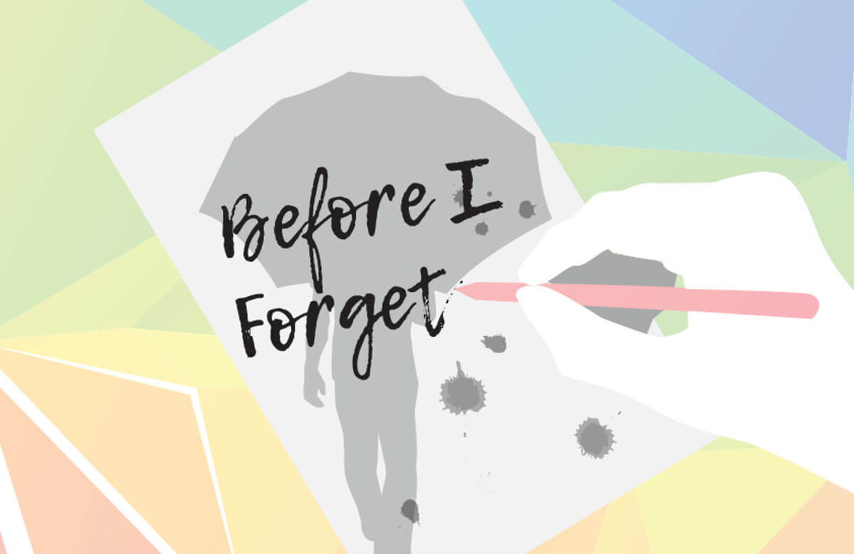 Before I Forget new mystery and love story debut