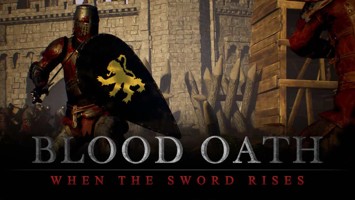 blood oath: when the sword rises medieval open world multiplayer game hits Kickstarter for windows pc linux