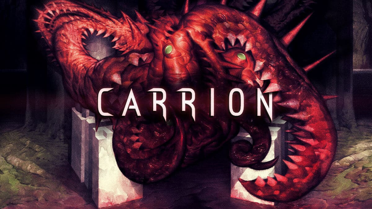 carrion reverse horror game releases today on linux mac windows pc