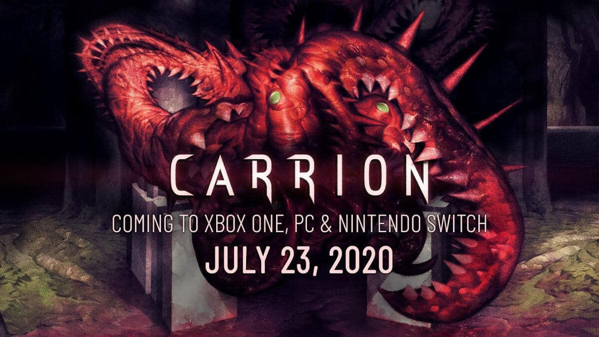 Carrion squishy horror due to release this month