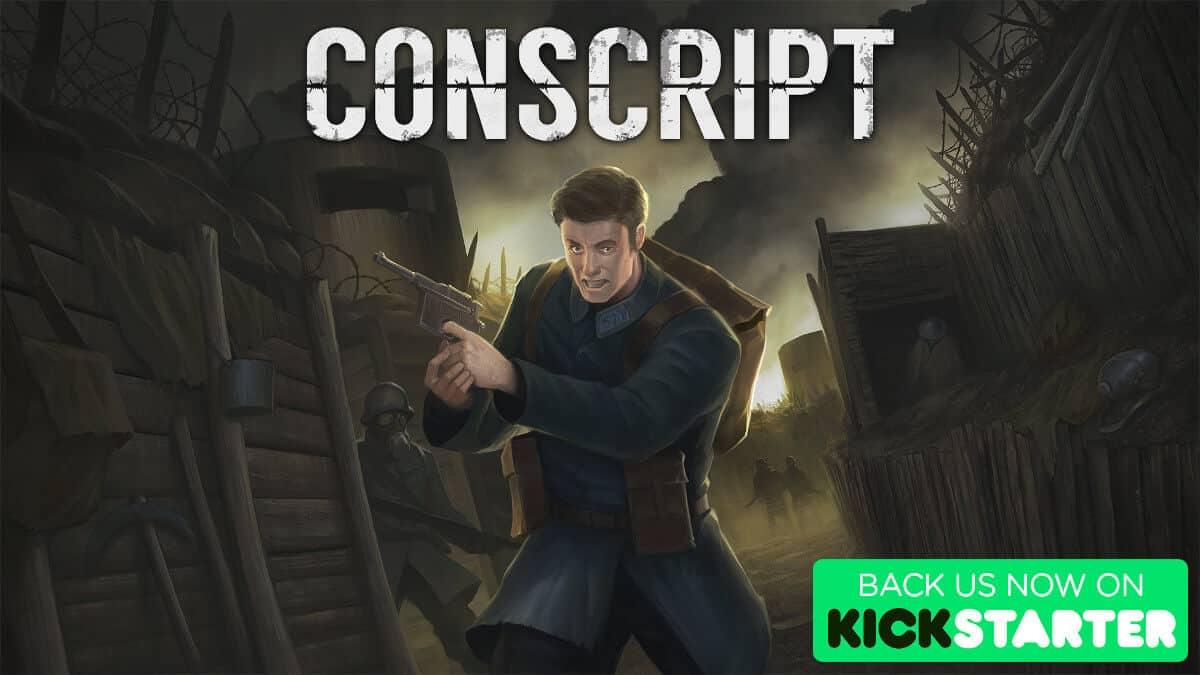 conscript gets a demo update for kickstarter on windows pc linux mac