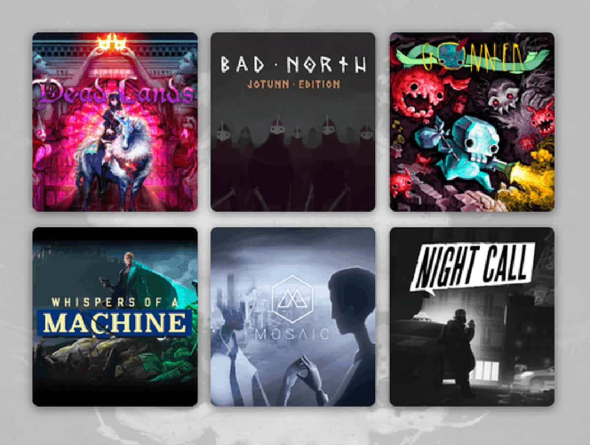humble raw fury 2020 bundle of favorite games list for linux mac windows pc