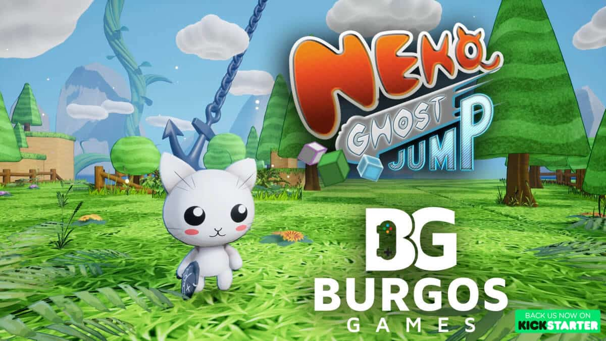 Neko Ghost, Jump Kickstarter now over 50 percent