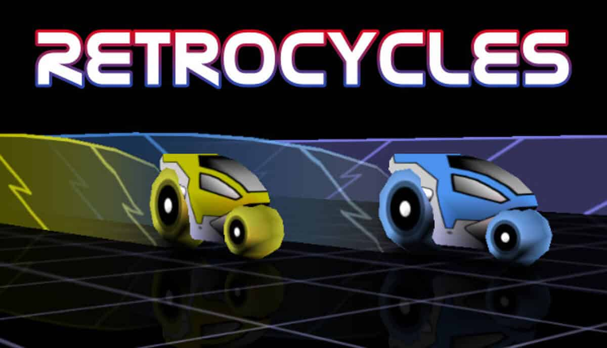 Retrocycles open source racing action hits Steam
