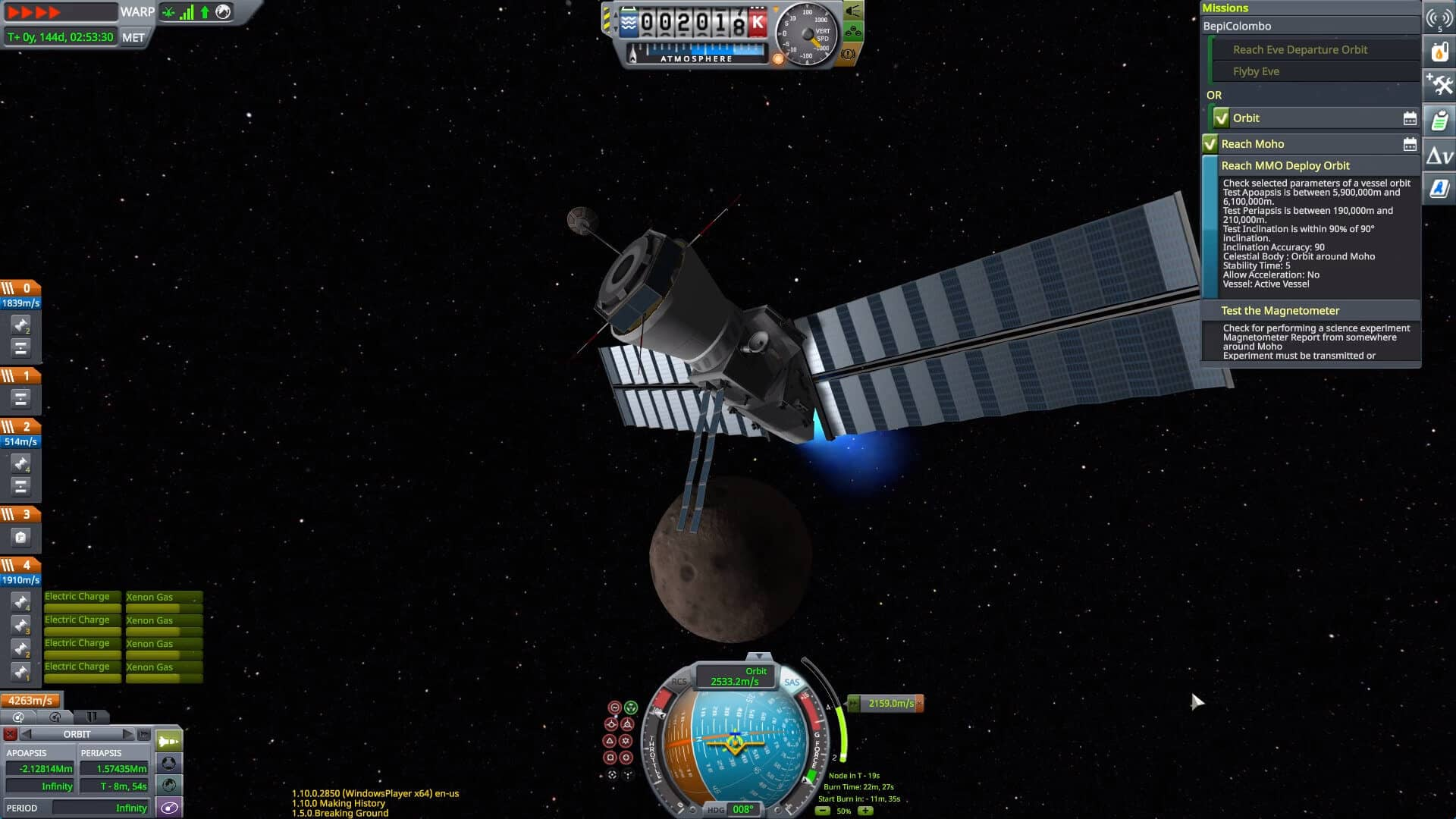 shared horizons update releases for kerbal space program screenshot
